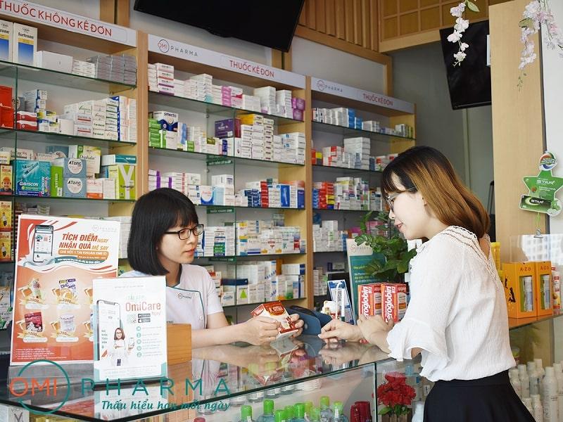 Omi Pharma - Nhà thuốc ở khu vực Mỹ Đình, Nam Từ Liêm theo tiêu chuẩn Nhật Bản