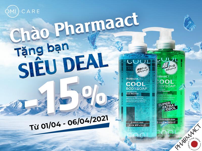 Vui đón hè sang - Đập tan nắng nóng với trọn bộ sản phẩm PharmaAct Nhật Bản dành cho nam giới-1