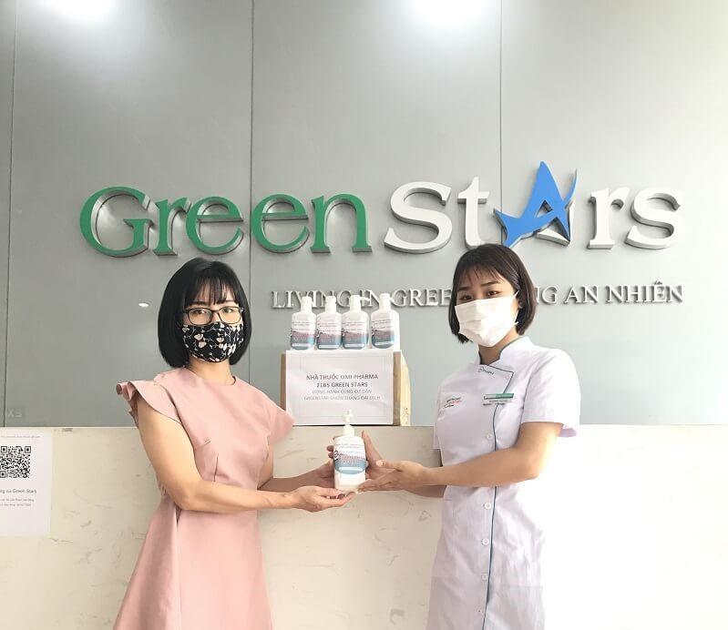 Nhà thuốc Omi Pharma chung tay cùng cộng đồng cư dân Green Stars đẩy lùi dịch COVID