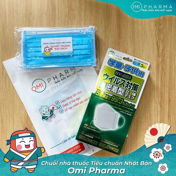 Nhà thuốc Omi Pharma đồng hành cùng cư dân Skylake quyết thắng đại dịch-1