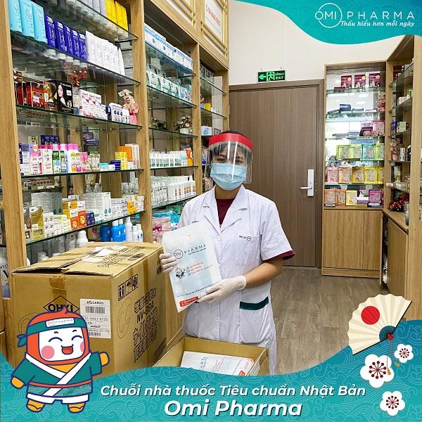 Nhà thuốc Omi Pharma đồng hành cùng cư dân Skylake quyết thắng đại dịch-2