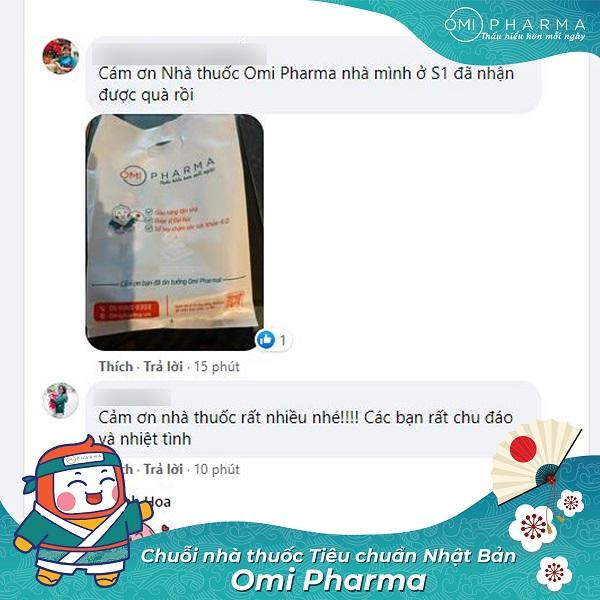 Nhà thuốc Omi Pharma đồng hành cùng cư dân Skylake quyết thắng đại dịch-7