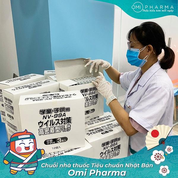 Nhà thuốc Omi Pharma đồng hành cùng cư dân Skylake quyết thắng đại dịch-3