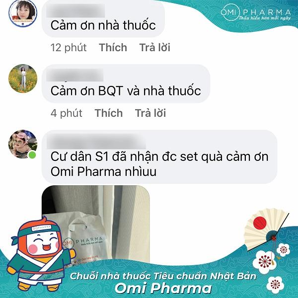 Nhà thuốc Omi Pharma đồng hành cùng cư dân Skylake quyết thắng đại dịch-9