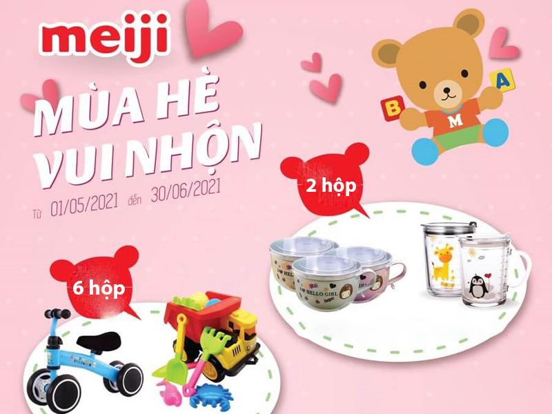 """Omi Pharma cùng bé đón """"Mùa Hè Vui Nhộn"""" với nhiều phần quà hấp dẫn khi mua sữa Meiji"""