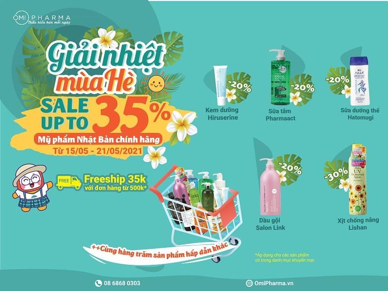 Summer Sale - Giải Nhiệt Mùa Hè cùng Omi Pharma