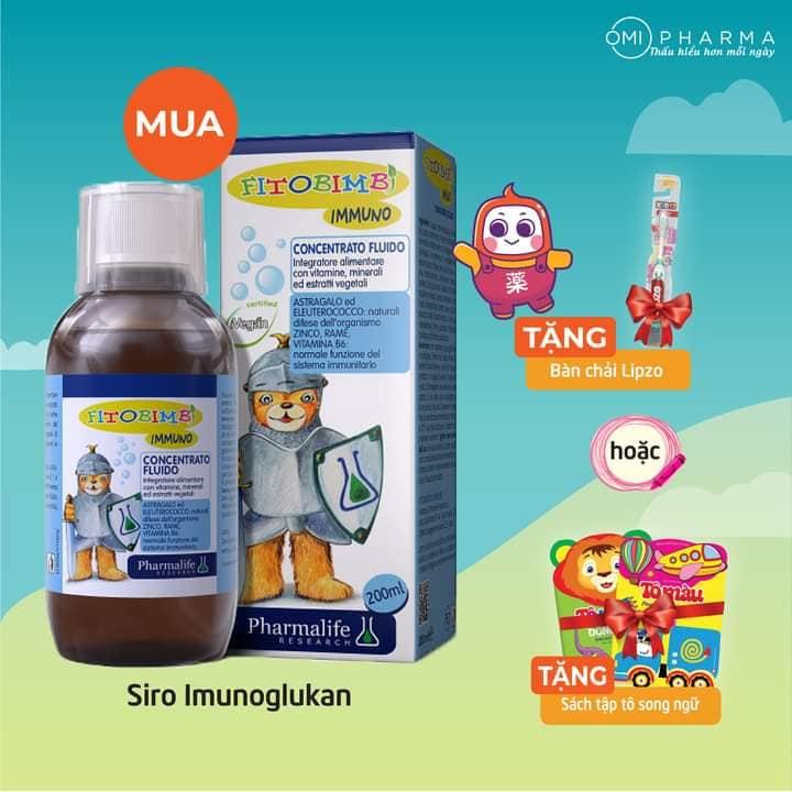 Quà tặng bé ngoan - Hân hoan mua sắm cùng Omi Pharma dịp Tết Thiếu Nhi 1-6 2