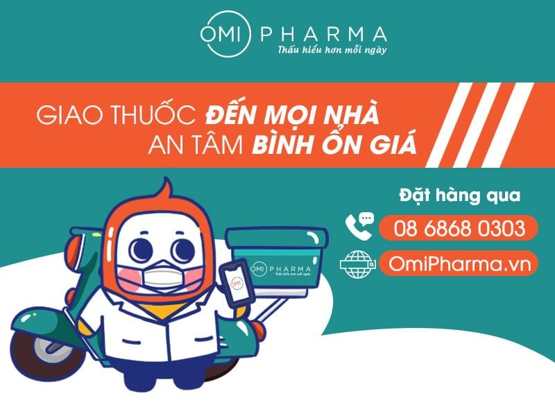 Giao thuốc tại nhà chỉ với thao tác đơn giản tại Omi Pharma - 3