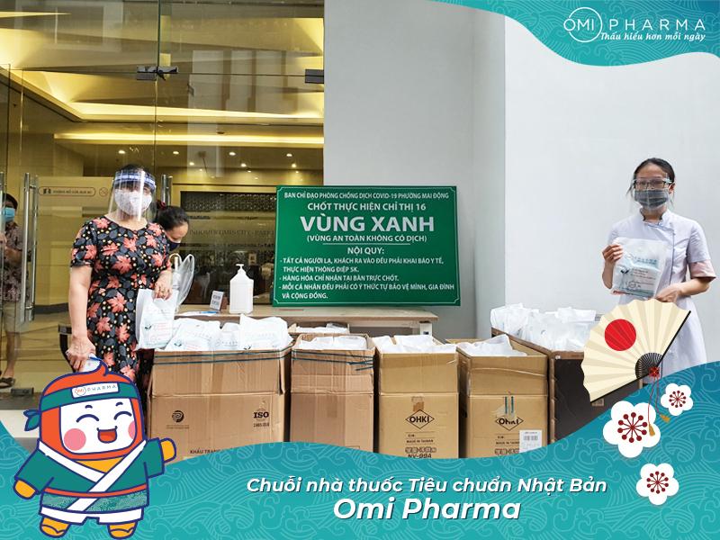 Omi Pharma đồng hành cùng cư dân Park 6 & T18 - Times City quyết thắng đại dịch