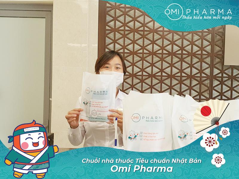 Omi Pharma gửi tặng hơn 3000 set quà sức khỏe tới cư dân Times City, đồng hành cùng cư dân quyết thắng đại dịch-4