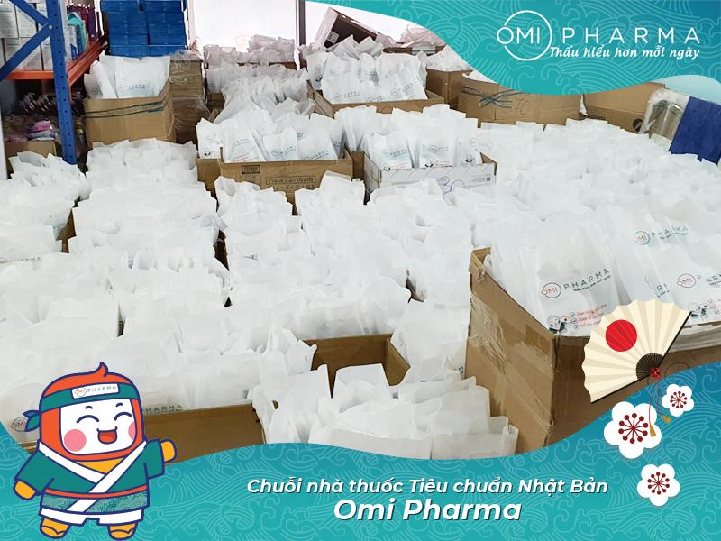 Omi Pharma gửi tặng hơn 3000 set quà sức khỏe tới cư dân Times City, đồng hành cùng cư dân quyết thắng đại dịch-5