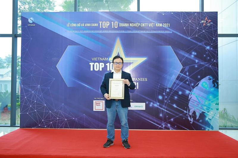 """Tự hào Ominext Group được vinh danh """"Top 10 Doanh nghiệp Medtech 2021""""-2"""